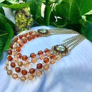 Robert Rose Multi Strand Necklace